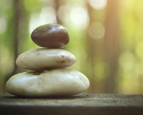 Stacked Stones - Mindfulness Meditation - Easy Ways To Be Mindful - Sandra Harewood Counselling