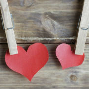 Two Red Paper Hearts On A Clothes Line - 20 Love Quotes That Express The True Meaning Of Love - Sandra Harewood Counselling