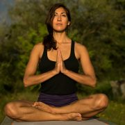 A Woman Meditating Outdoors -7 Ways Mindfulness Can Make You A Better Lover Sandra Harewood Counselling