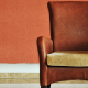 Single Leather High Back Arm Chair With Mustard Cushion In Room - What A Therapist Wants You To Know About Starting Therapy - Sandra Harewood Counselling
