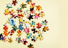 Complex PTSD: How Early Relational Trauma Impacts Relationships - Scattered Jigsaw Puzzle - Sandra Harewood Counselling