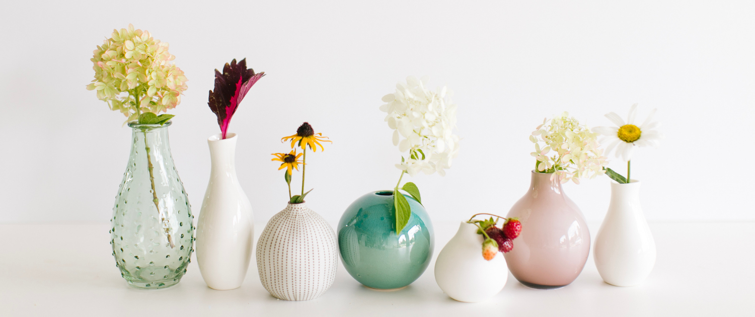 Opening Flowers in Vase - Coaching Opening Your Potential -Sandra Harewood